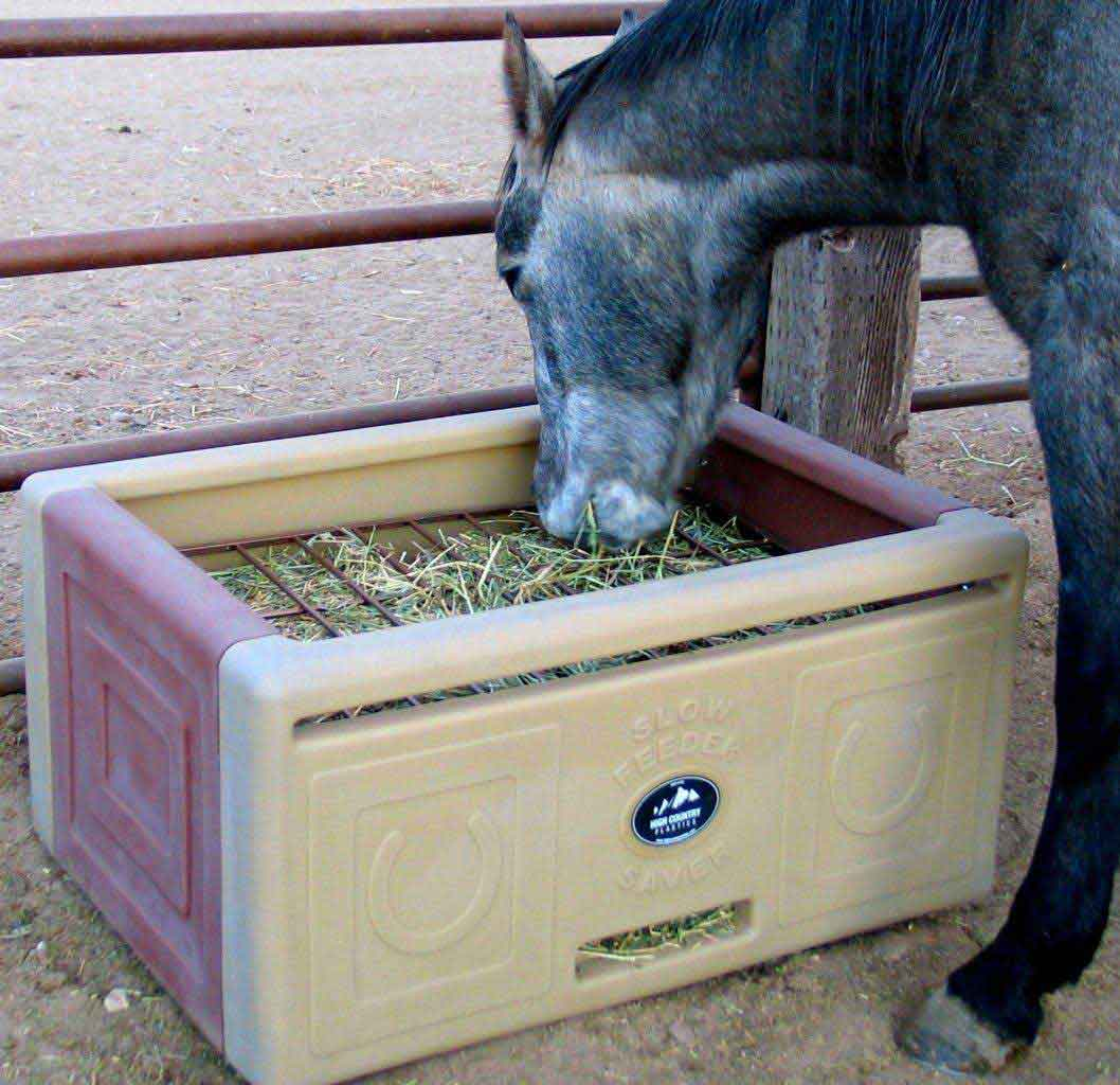 Slow Feeder Saver For Horses High Country Plastics