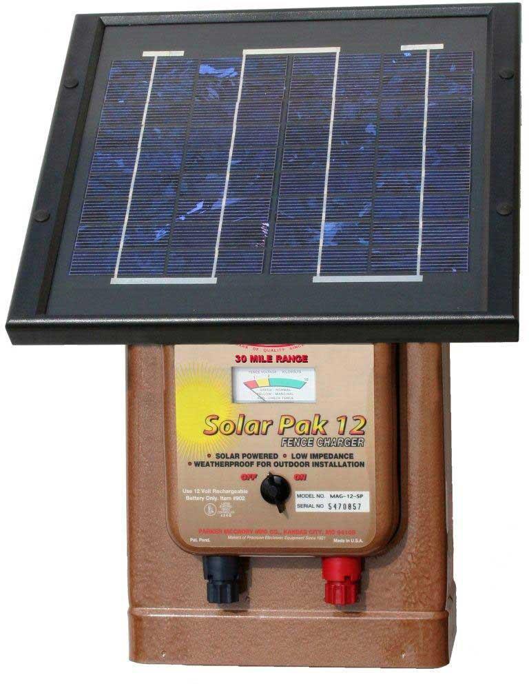 Magnum Solar Pak 12 Fence Charger Parker Mccrory