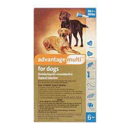 6 ct (55-88 lbs) Advantage Multi for Dogs Topical Solution