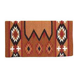 Rust/Black Laredo Navajo Saddle Blanket
