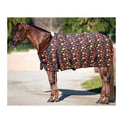 Flames Equisential 600D Winter Turnout Horse Blanket