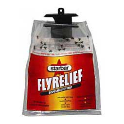 up to 10,000 flies (single) Fly Relief Disposable Fly Trap
