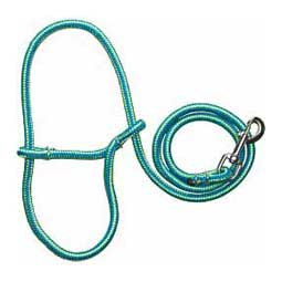 Blue/Lime Poly Rope Sheep Halter w/Snap