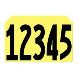Yellow Tamperproof Hog Ear Tags - Numbered Integra Hog ID Tags