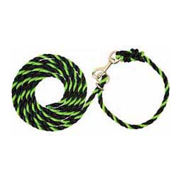 Lime/Black Livestock Adjustable Poly Neck Ropes