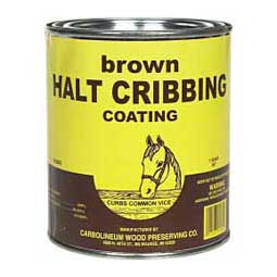 Brown Quart Halt Cribbing