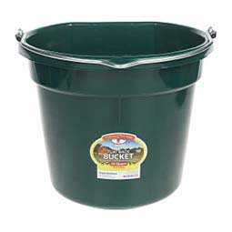 Green 20 Quart Flat Back Bucket