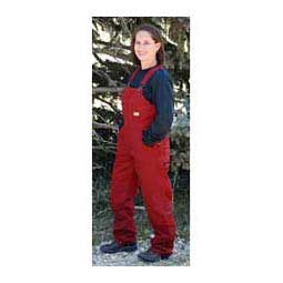 Crimson Sanded Insulated Womens Bib Overalls - Tall