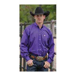 Violet Solid Cinch Mens Shirt