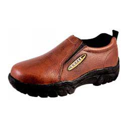 Smooth Bay Brown Mens Sport Slip On