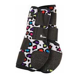 Party Cheetah Classic Legacy System Support Horse Boots - Front