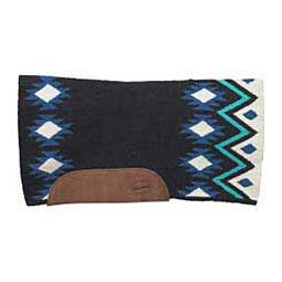 Black/Blue Brookside Contour Blanket
