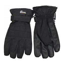 Black Insulated Mens Work Mens Gloves