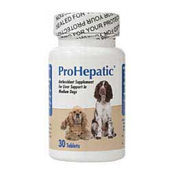 30 ct (med/large dog) ProHepatic Liver Support for Dogs & Cats