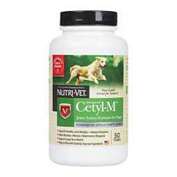 50 ct Advanced Cetyl M for Dogs Joint Action Formula