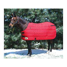 Red/Black Comfort Cover Stable Horse Blanket