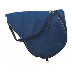 Navy/Tan All-Purpose English Saddle Carrier Bag