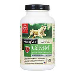 120 ct Advanced Cetyl M for Dogs Joint Action Formula
