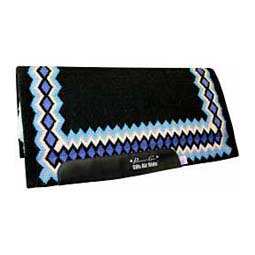 Black/Turquoise SMX Heavy Duty Air Ride Shilloh Saddle Pad