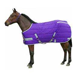 Purple/Silver Brookside Adjustable Pony/Yearling Stable Blanket