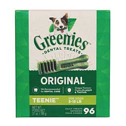 Greenies Dental Dog Treats Tub