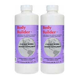 2 x 32 oz (128 days) Equine Body Builder Rice Bran Oil Emulsion