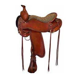Mahogany 550 Competitive Trail Saddle