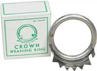 Crown Weaning Ring - Cow