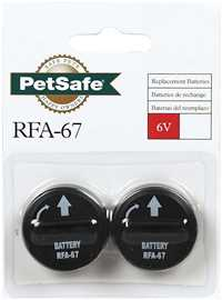 PetSafe Radio Fence Deluxe Kit Replacement Batteries RFA-67