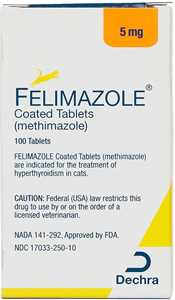 Felimazole Coated Tabs for Cats
