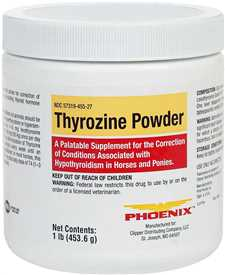 Thyrozine Powder for Horses