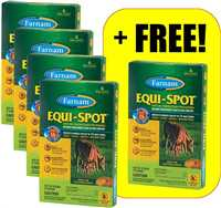 4 pk + 1 Free Equi-Spot Spot-On Fly Control 4-pack + 1 Free Equi-Spot