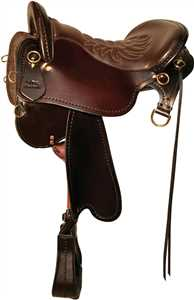 Brown Demo Saddle - Endurance Trail Saddle