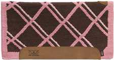 Woven Top Saddle Pad