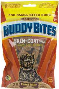 Majesty's Buddy Bites Skin + Coat Wafers