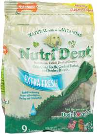 Nutri Dent Extra Fresh Dental Chews