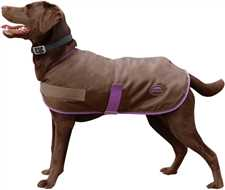 Fleece Lined Windbreaker Dog Coat