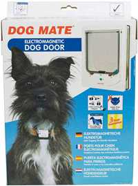 Dog Mate Electromagnetic Dog Door for Large Cats and Small Dogs