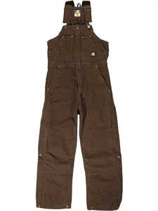 Original Washed Insulated Mens Bib Overalls - Regular