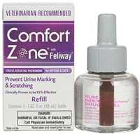 48 ml Comfort Zone Plug-In Diffuser Refill with Feliway for Kittens & Cats