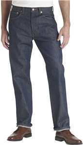 Levi's 501 Mens Button Fly Original Shrink-to-Fit Jeans
