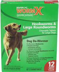12 ct - Large dog (25 lbs & up) WormX