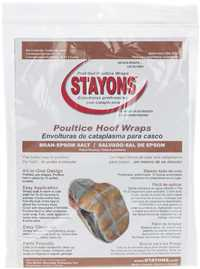 STAYONS Bran/Epsom Poultice Hoof Wrap