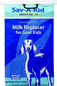 25 lb Sav-A-Kid Milk Replacer with Deccox
