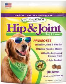 Natural Stride Regular Strength Hip and Joint Dog Chews