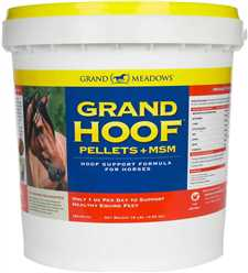 Grand Hoof + MSM Pellets
