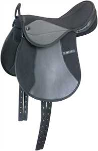 Black Redi-Ride Pony Saddle