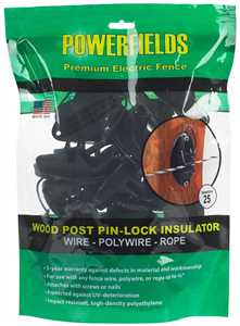 Wood Post Pin-Lock Insulator