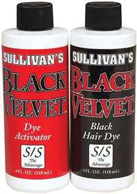 Black Black Velvet Hair Dye Kit
