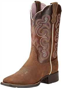 Womens Quickdraw Cowgirl Boots